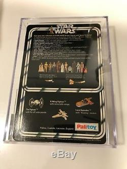 Star Wars Vintage Stormtrooper Palitoy 12 back MOC AFA85 #SundayMarket