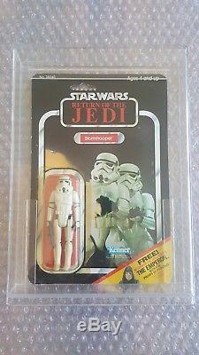 Star Wars Vintage Stormtrooper ROTJ MoC 65back Kenner (1983)