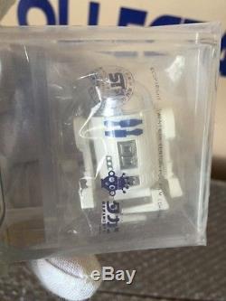 Star Wars Vintage Takara Wind-Up R2-D2 Sealed Baggie AFA 90 MINT 1978 Japanese