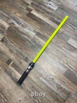 Star Wars Vintage The Force Lightsaber Obi-Wan Kenobi Yellow Empire Strikes Back