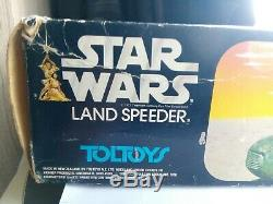Star Wars Vintage Toltoys New Zealand Chocolate Landspeeder Land Speeder RARE
