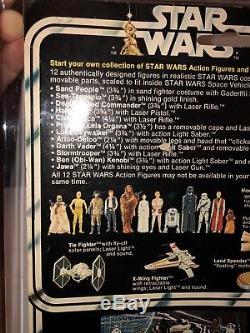 Star Wars Vintage UKG 75 Vinyl Cape Jawa MOC 12 back-A No Discolouration