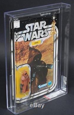Star Wars Vintage Vinyl Cape Jawa 12 Back-A AFA 70 (90/85/60) Unpunched MOC
