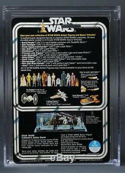 Star Wars Vintage Vinyl Cape Jawa 12 Back-A AFA 85+ (85/90/90) MOC