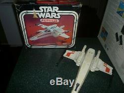 Star Wars Vintage X-Wing Fighter in Original Box