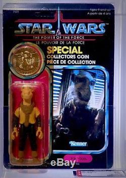 Star Wars Vintage YAK FACE POTF Power of the Force MOC AFA 80 (80-85-85)