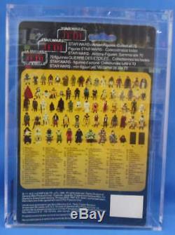 Star Wars Vintage Yak Face AFA 70 1985 Palitoy Kenner Tri Logo 70 Back D