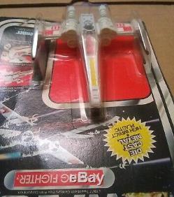 Star Wars vintage X Wing Fighter die cast 21 back MOC