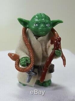 Star Wars vintage variant Yoda mexican Lili Ledy dark green