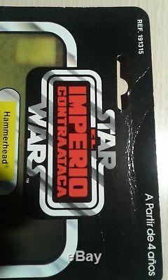 Star wars vintage poch / pbp Hammerhead Imperio contraataca 45 back Original