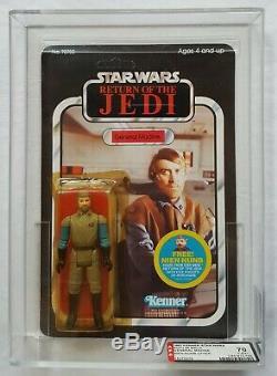 TOLTOYS Vintage Star Wars 1983 ROTJ, 65-Back, General Madine, MOC