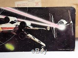 VINTAGE STAR WARS MAIL-AWAY FIGURE DISPLAY STAND 1977 WithBOX RARE KENNER