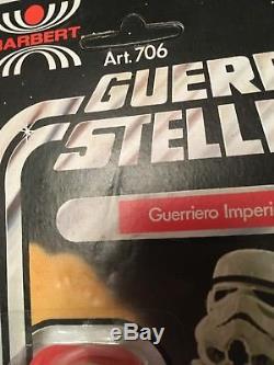 Vintage 1977 Italian Harbert Star Wars Stormtrooper Moc Unused