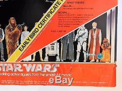 Vintage 1977 STAR WARS EARLY BIRD CERTIFICATE PACKAGE JCPenney Mail-Away UNUSED