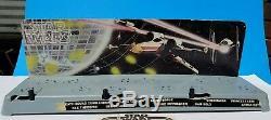 Vintage 1977 Star Wars First 12 Display Stand with Original Cardboard Backdrop