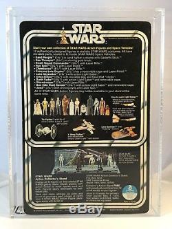 Vintage 1978 Kenner Star Wars 12 Back Luke Skywalker Action Figure MOC AFA 75