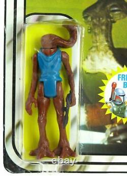 Vintage 1978 Kenner Star Wars 20 Back Hammerhead withBoba Fett Offer MOC AFA It