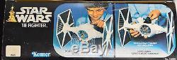 Vintage 1978 Kenner Star Wars Tie Fighter With Original Box Very Nice