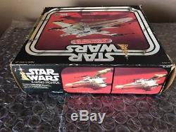 Vintage 1978 Kenner Star Wars X-Wing Fighter Complete In Box Not Working