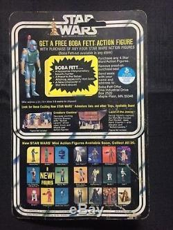 Vintage 1978 Star Wars 20 back Greedo MOC