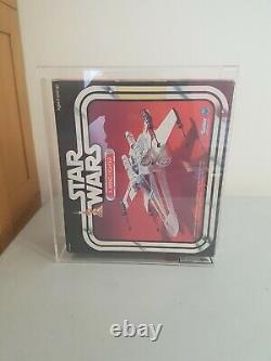 Vintage 1978 kenner UKG graded Star Wars X-Wing Fighter stunning piece free UK p