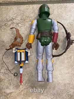 Vintage 1979 Kenner Star Wars 12 inch Boba Fett! Mandolorian Look