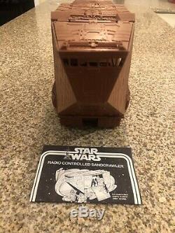 Vintage 1979 Star Wars Jawa Sand Crawler Kenner Rare & Must-have Item