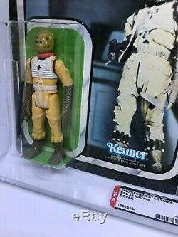 Vintage 1980 Kenner Star Wars Bossk ESB 32-B Back AFA 80+ (80,80,85) MOC UnPnch