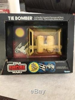 Vintage 1980 Star Wars ESB TIE BOMBER Die Cast MIB Kenner ULTRA RARE