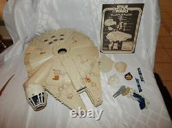 Vintage 1981 Kenner Star Wars Millenium Falcon Complete In Box. Awesome