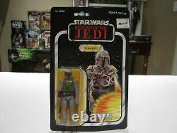 Vintage 1983 BOBA FETT RETURN OF THE JEDI 65 BACK MADE IN TAIWAN