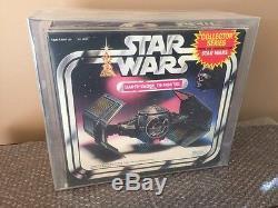 Vintage 1983 Star Wars Darth Vader Tie Fighter Never Opened! Kenner AFA 80 Look