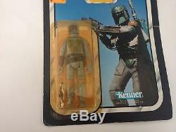 Vintage 1983 Star Wars Rotj Boba Fett 77 Back