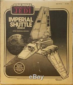 Vintage 1984 Kenner Star Wars Imperial Shuttle With Original Box