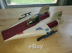 Vintage 1985 Kenner Star Wars A Wing Fighter