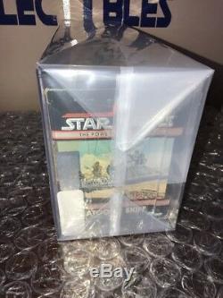 Vintage 1985 Kenner Star Wars POTF Tatooine Skiff MISB Fett Sealed Box AFA 75