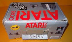 Vintage 1986 Atari 2600 Pal Video Game System Console Boxed + Star Wars Bundle