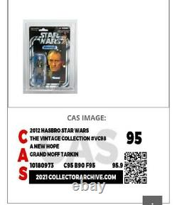 Vintage Collection Star Wars VC 98, Graded 95! Grand Moff Tarkin! CAS / AFA