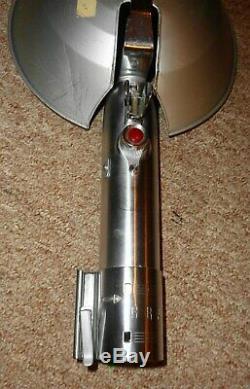 Vintage Graflex 3 Cell Flash Unit Red Button Glass Eye Light Saber Star Wars WOW