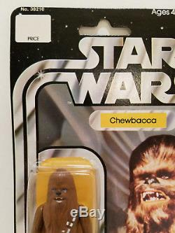 Vintage Kenner 1977 Star Wars Chewbacca12 Back NIB Unopened