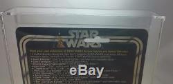 Vintage Kenner 1978 Star Wars 12 Back C Han Solo Large Head Afa 80 (c75 B85 F85)