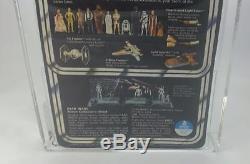 Vintage Kenner 1978 Star Wars Archival 12 Back B Darth Vader Afa 80 C80 B80 F80