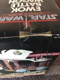 Vintage Kenner 1984 STAR WARS POTF Ewok Battle Wagon Factory Sealed