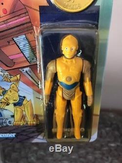 Vintage Kenner 1985 Star Wars Droids Cartoon C-3PO MOC Unpunched