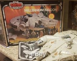 Vintage Kenner COMPLETE Star Wars Empire Strikes Back ESB 1981 Millennium Falcon