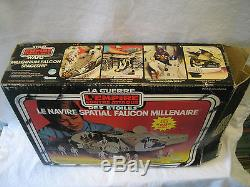 Vintage Kenner Canada MILLENNIUM FALCON toy STAR WARS Canadian with original BOX