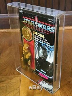 Vintage Kenner Canada Star Wars MOC AFA60Y POTF Yak Face HOLY GRAIL