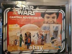 Vintage Kenner Star Wars 1978 Sears Cantina Adventure Set MISB AFA 75