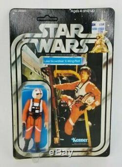 Vintage Kenner Star Wars 20 Back Luke Skywalker X-Wing Pilot MOC RARE