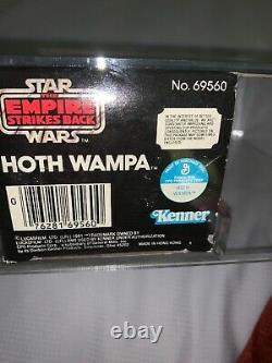 Vintage Kenner Star Wars Esb Hoth Wampa Afa 80 Nm+! Rare + Superb Misb